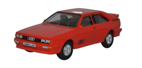 Oxford 76AQ001 AQ001 1/76 OO Scale Audi Quattro Tornado Red