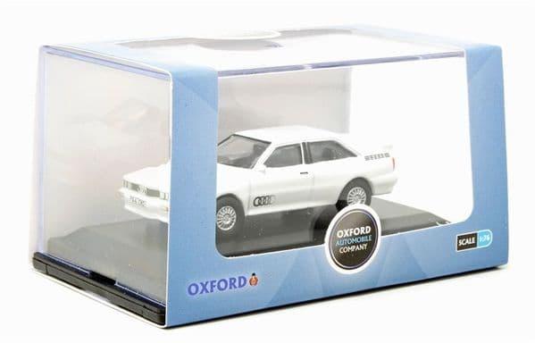 Oxford 76AQ002 AQ002 1/76 OO Scale Audi Quattro Alpine White
