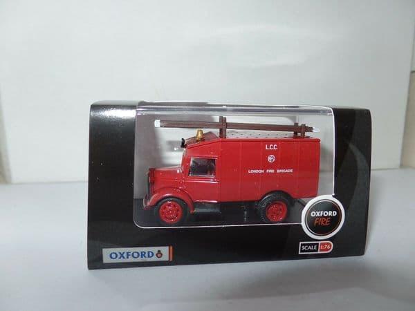 Oxford 76ATV003 ATV003 1/76 OO Scale Austin ATV London LCC Fire Brigade Red