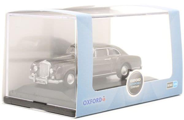Oxford 76BCF004 BCF004  1/76 OO Scale Bentley S1  Gunmetal  Grey