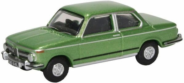 Oxford 76BM02003 BM02003 1/76 OO Scale BMW  2002  Taiga Green
