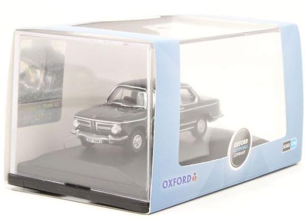 Oxford 76BM02004 BM02004 1/76 OO Scale BMW BMW 2002 Black