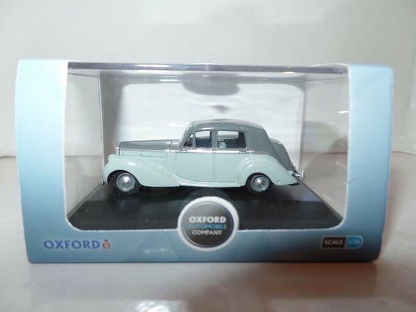 Oxford 76BN6005 BN6005 1/76 OO Scale Bentley Mk VI Midnight Two Tone Grey Silver