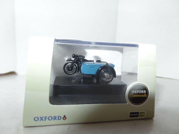 Oxford 76BSA002 BSA002 1/76 HO/OO BSA Motorcycle Motorbike & Sidecar RAC Service