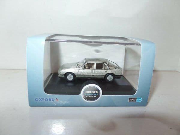 Oxford 76CAV001 CAV001 1/76 OOScale Vauxhall  Cavalier Champagne Platinum Silver