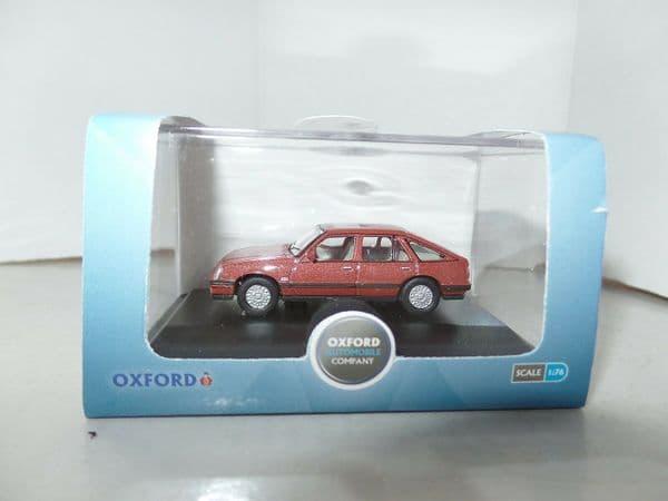 Oxford 76CAV002 CAV002 1/76 OO Scale Vauxhall  Cavalier Carnelian Red