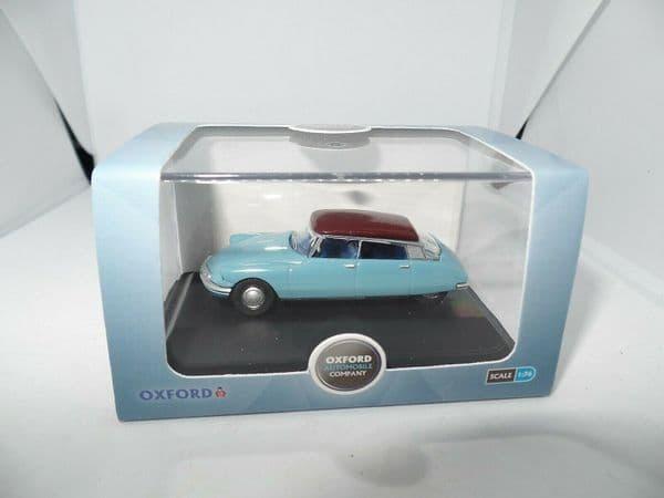Oxford 76CDS005 CDS005 1/76 OO Scale Citroen DS DS19 Monte Carlo Blue Aubergine