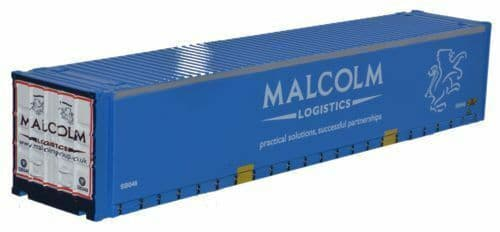 Oxford 76CONT003 CONT003 1/76 OO Scale Road Rail Container W H Malcolm Blue
