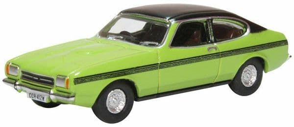 Oxford 76CPR001 CPR001 1/76 Ford Capri Mk II 2 Lime Green Only Fools and Horses