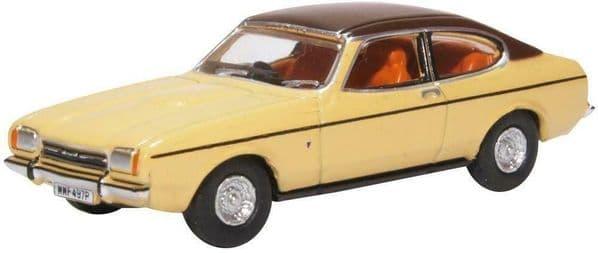 Oxford 76CPR002 CPR002 1/76 OO Scale Ford Capri Mk II 2 Sahara Beige