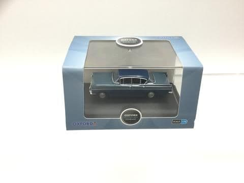 Oxford 76CRE010 CRE010 1/76 OO Scale Vauxhall Cresta Moonlight Blue And Bermuda Blue