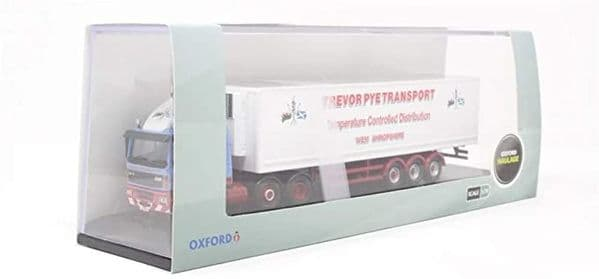 Oxford 76DAF004 DAF004 1/76 OO Scale Leyland DAF 85 Short Fridge Trailer Trevor Pye Transport
