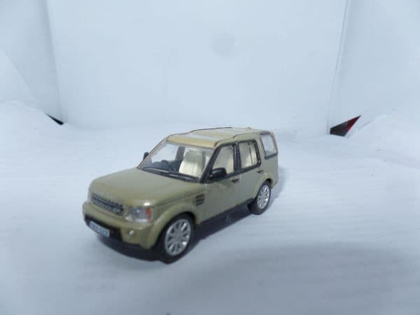 Oxford 76DIS001 DIS001 1/76 OO Scale Land Rover Discovery 4 Gold Sand Metallic FAULT