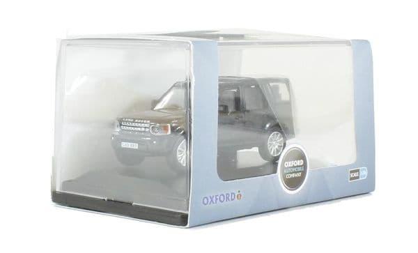 Oxford 76DIS002  DIS002 1/76 OO Scale Land Rover Discovery 4 Santorini Black