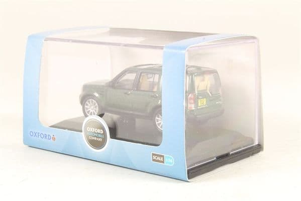 Oxford 76DIS003  DIS003 1/76 OO Scale Land Rover Discovery 4 Aintree Green