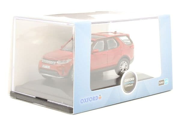 Oxford 76DIS5003 DIS5003 1/76 OO Land Rover Discovery Mk 5 Firenze Red