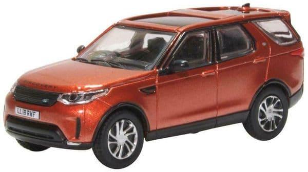Oxford 76DIS5004 DIS50041/76 OO Land Rover Discovery Mk 5 Namib Orange