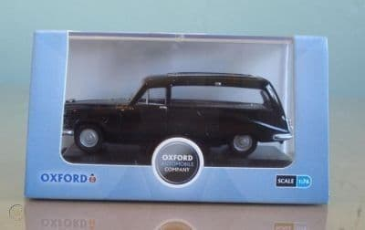 Oxford 76DS002 DS002 1/76 OO Scale Daimler DS420 Black Hearse Funeral
