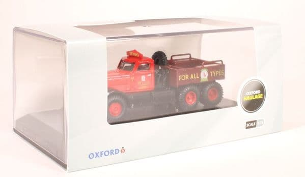 Oxford 76DT006 DT006 1/76 OO Scale Diamond T Ballast Wynns Haulage