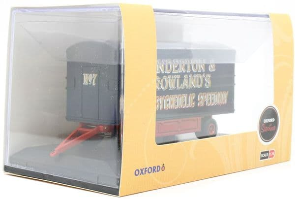 Oxford 76DTR002 DTR002 1/76 OO  Scale Dodgem Trailer Anderson & Rowland