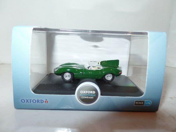 Oxford 76DTYP004 DTYP004 1/76 OO Jaguar D Type British Racing Green