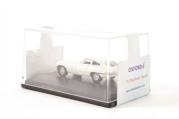 Oxford 76ETYP004 ETYP004 1/76 OO Scale Jaguar E Type Old English White Coupe