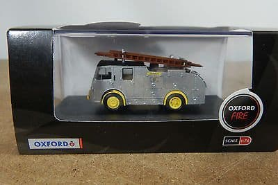Oxford 76F8006 F8006 1/76 OO Scale Dennis F8 Fire Engine West Sussex Fire Brigade