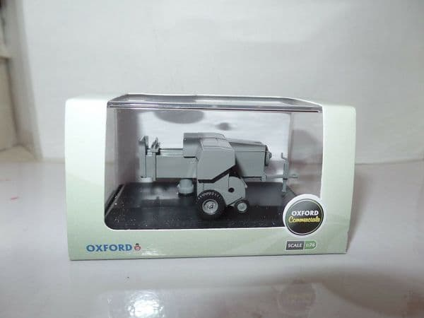Oxford 76FARM003 FARM003 1/76 OO Scale Farm Farmers Baler Grey