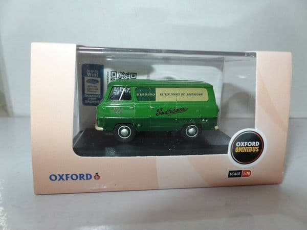 Oxford 76FDE008 FDE008 1/76 OO Ford 400E Thames Van Southdown Bus Support