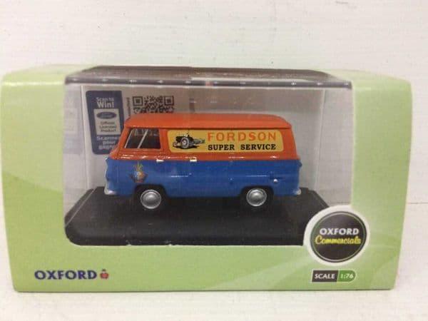 Oxford 76FDE011 FDE011 1/76 OO Ford 400E Thames Van Fordson Tractors