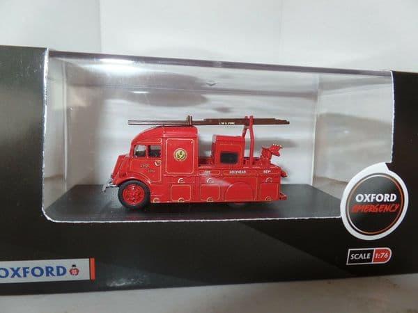 Oxford 76FHP003 FHP003 1/76 OO  Fordson Heavy Pump LMS Railway Fire Brigade