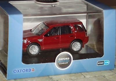 Oxford 76FRE001 FRE001 1/76 OO Scale Land Rover Freelander Firenze Red