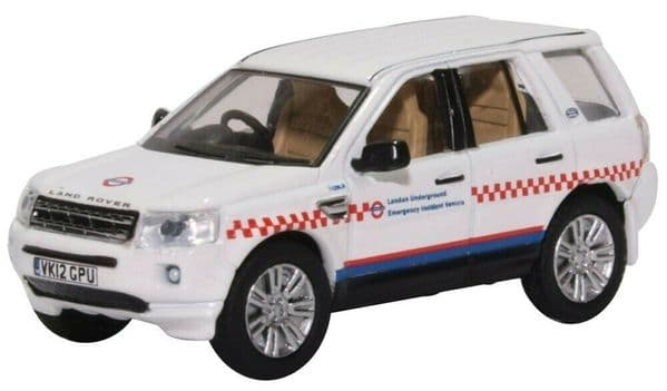 Oxford 76FRE005 FRE005 1/76 OO Scale Land Rover Freelander London Underground