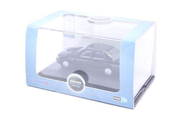 Oxford 76FS001 FS001 1/76 OO Scale Ford Sierra Sapphire Ebony Black