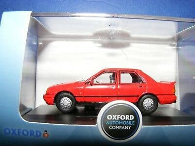 Oxford 76FS003 FS003 1/76 OO Scale Ford Sierra Sapphire Radiant Red