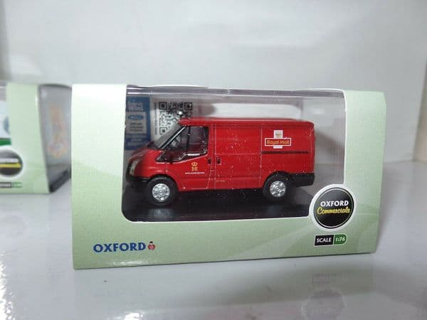 Oxford 76FT002 FT002 1/76 OO Ford Transit Low Top Van Post Office Royal Mail Red