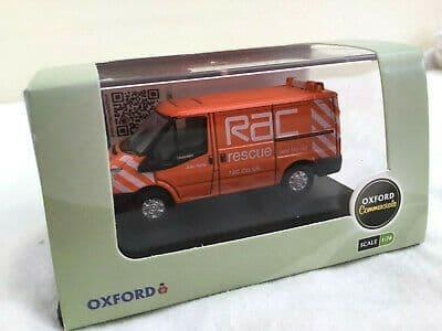 Oxford 76FT003 FT003 1/76 OO Ford Transit Mk 7 Low Top Van RAC Royal Automobile Club
