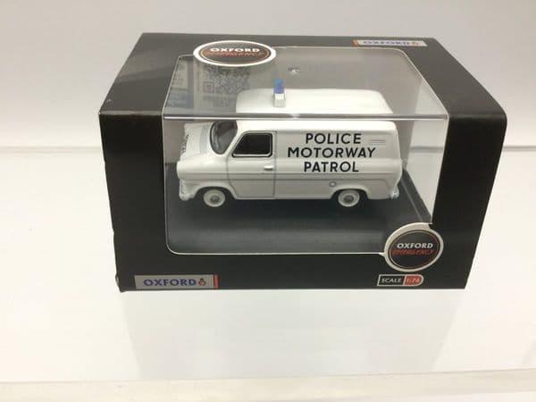 Oxford 76FT1007 FT1007 1/76 OO Ford Transit Mk I  Police Motorway Patrol Gwent
