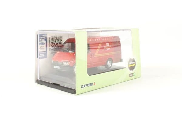 Oxford 76FT3002 FT30021/76 OO Scale Ford Transit Mk III 3 Royal Mail Post Office