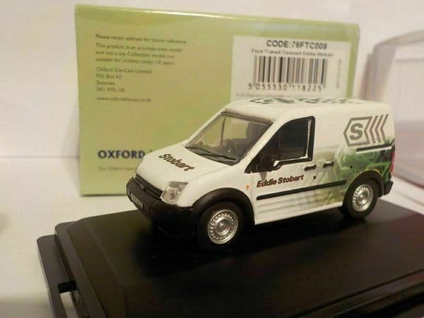 Oxford 76FTC008 FTC008 1/76 OO Ford Transit Connect Eddie Stobart New Livery