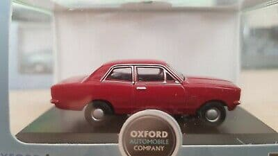 Oxford 76HB003 HB003 1/76 OO Scale Vauxhall  Viva HB Monza Red