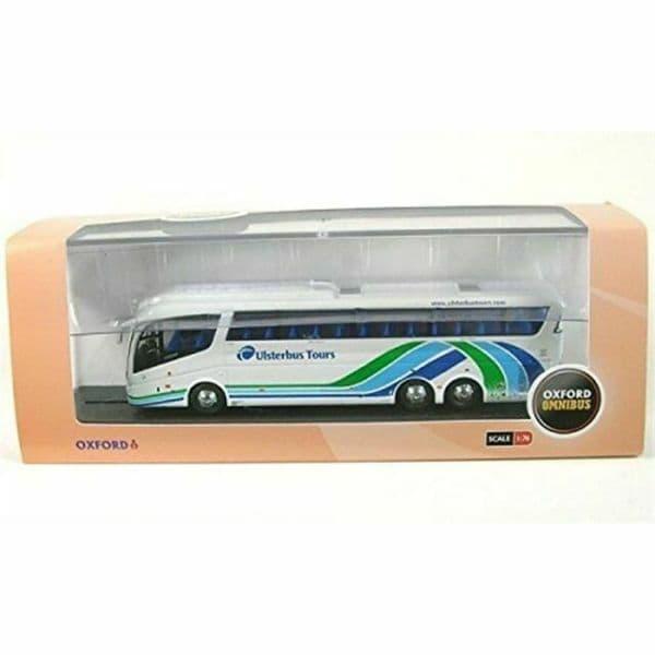 Oxford 76IRZ003 IRZ003 1/76 OO Scania Irizar PB Coach Ulsterbus Tours MIMB