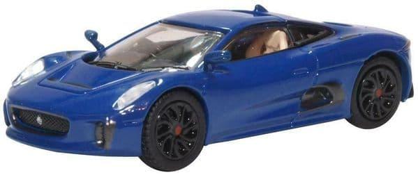 Oxford 76JCX75003 JCX75003 1/76 OO Scale Jaguar C-X75 Caesium Blue