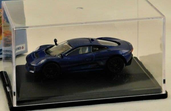 Oxford 76JCX75003 JCX75003 1/76 OO Scale Jaguar C-X75 Caesium Blue NO