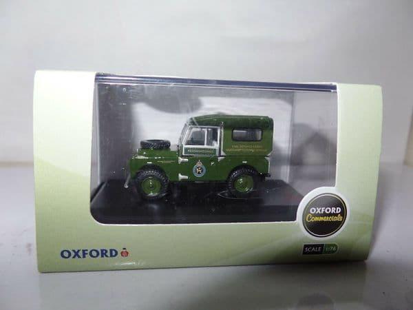 Oxford 76LAN188001 LAN188001 1/76 OO Scale Land Rover Civil Defence Northampton