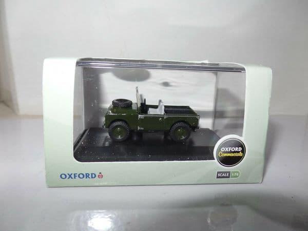 Oxford 76LAN188003 LAN188003 1/76 OO Land Rover Bronze Green Open Churchill