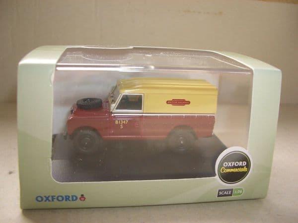 Oxford 76LAN2001 LAN2001 1/76 OO Land Rover Series 2 British Railways Maroon