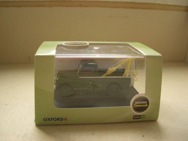 Oxford 76LAN2009 LAN2009 1/76 OO Land Rover Series 2 Tow Truck Bronze Green