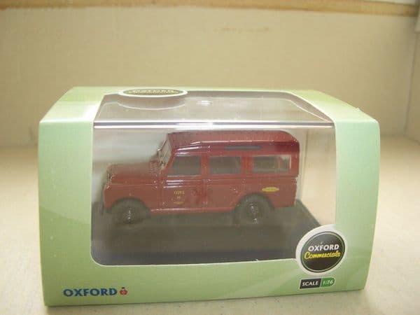 Oxford 76LAN2010 LAN2010 1/76 OO Land Rover Series 2 British Railways Maroon