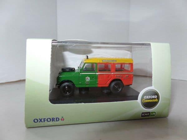 Oxford 76LAN2013 LAN2013 1/76 OO Land Rover Series 2 Shell BP Aviation Airport